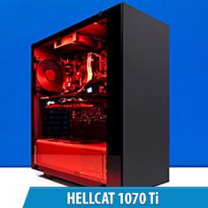 PCCG Hellcat 1070 Ti Gaming System