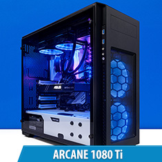 PCCG Arcane 1080 Ti Gaming System