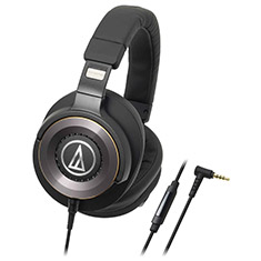 Audio-Technica ATH-WS1100iS Solid Bass Over Ear Headphones