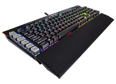 Corsair K95 Platinum RGB Mech Keyboard Cherry MX Speed Black