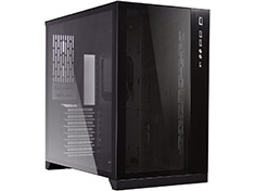 Lian Li PC-011 Dynamic Tempered Glass Case Black