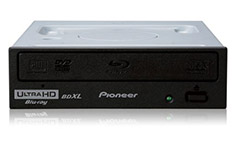 Pioneer BDR-211EBK Internal Blu-Ray Writer with UHD Playback