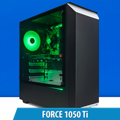 PCCG Force 1050 Ti Gaming System