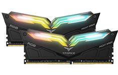 Team T-Force Night Hawk RGB 3600MHz 16GB (2x8GB) DDR4 Black