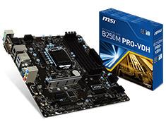 MSI B250M Pro VDH Motherboard