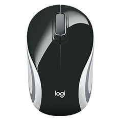 Logitech M187 Mini Wireless Mouse Black
