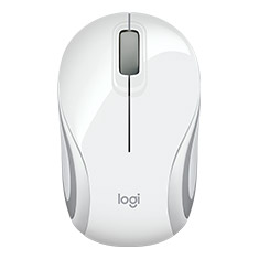 Logitech M187 Mini Wireless Mouse White