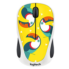 Logitech M238 Wireless Mouse Toucan