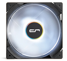 Cryorig QF120 LED Performance Series 120mm PWM Fan