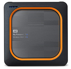 Western Digital My Passport Wireless SSD 250GB