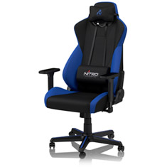 Nitro Concepts S300 Gaming Chair Black Blue