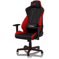 Nitro Concepts S300 Gaming Chair Black Red