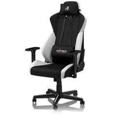 Nitro Concepts S300 Gaming Chair Black White
