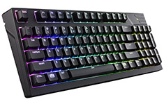 Cooler Master Masterkeys Pro M RGB Mech Keyboard Cherry Red