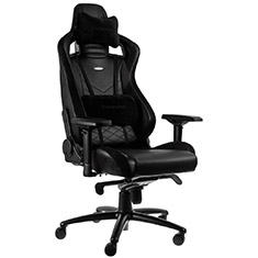 noblechairs EPIC PU Leather Gaming Chair Black