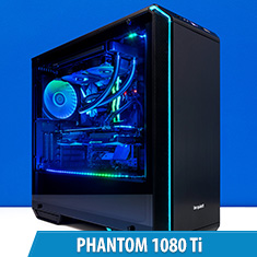 PCCG Phantom 1080 Ti Gaming System