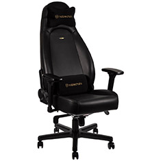 noblechairs ICON Nappa Leather Gaming Chair Black