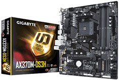 Gigabyte AX370M DS3H Motherboard