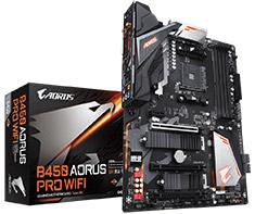 Gigabyte B450-Aorus Pro WiFi Motherboard