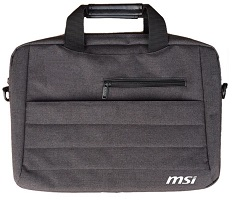 MSI Briefcase Style Laptop Carry Bag 15-17Inch