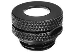 Thermaltake Pacific G1/4 Pressure Stop Plug w/ O-Ring Black