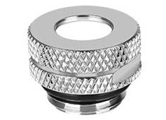 Thermaltake Pacific G1/4 Pressure Stop Plug w/ O-Ring Chrome
