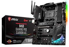 MSI B450 Gaming Pro Carbon AC Motherboard