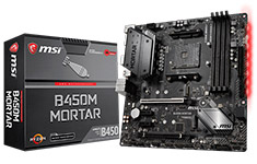 MSI B450M Mortar Motherboard