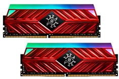 ADATA XPG Spectrix D41 RGB 3200MHz 16GB (2x8GB) DDR4 Red