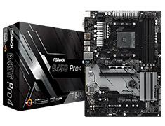 ASRock B450 Pro4 Motherboard