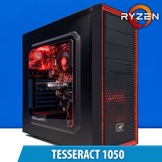 PCCG Tesseract 1050 Gaming System