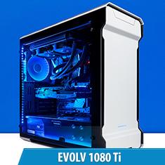 PCCG Evolv 1080 Ti Gaming System