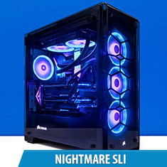PCCG Nightmare 1080 Ti SLI Gaming System