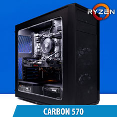 PCCG Carbon 570 Gaming System