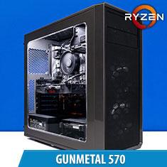 PCCG Gunmetal 570 Gaming System