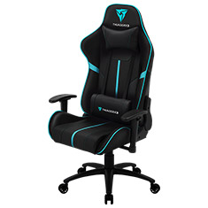 Aerocool ThunderX3 BC3 Gaming Chair Black Cyan