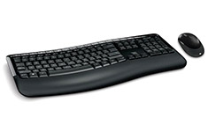 Microsoft Wireless Comfort Desktop 5050 Keyboard Mouse Combo