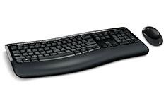 Microsoft Wireless Comfort Desktop 5050 Keyboard Mouse Combo