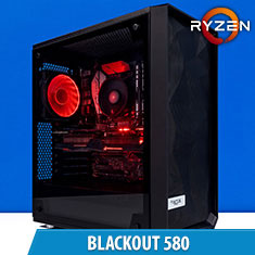 PCCG Blackout 580 Gaming System