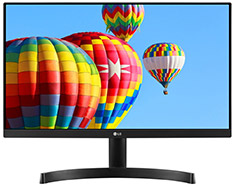 LG 24MK600M-B 24in Full HD IPS Freesync Monitor