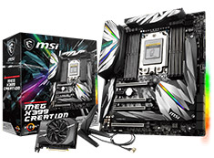 MSI MEG X399 Creation Motherboard