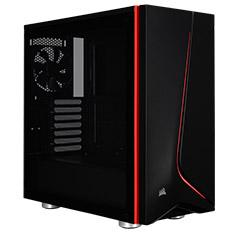 Corsair Carbide SPEC-06 With Tempered Glass Black