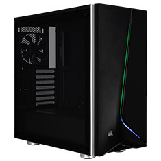 Corsair Carbide SPEC-06 RGB Tempered Glass Case Black