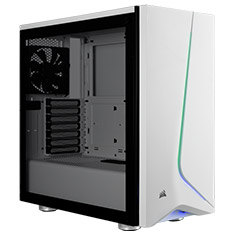Corsair Carbide SPEC-06 RGB Tempered Glass Case White
