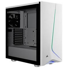 Corsair Carbide SPEC-06 RGB Tempered Glass Case White