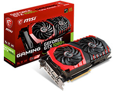 MSI GeForce GTX 1080 Ti Gaming 11GB