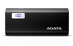 ADATA P12500D 12500mAh Power Bank Black