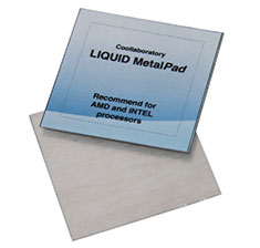 Coollaboratory Liquid MetalPad for 3 CPU 1 Cleaner