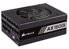 Corsair AX1600i Digital ATX Modular Titanium 1600W Power Supply