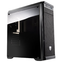 Cougar MX330-STE500 Windowed Mid Tower Case with 500W PSU
